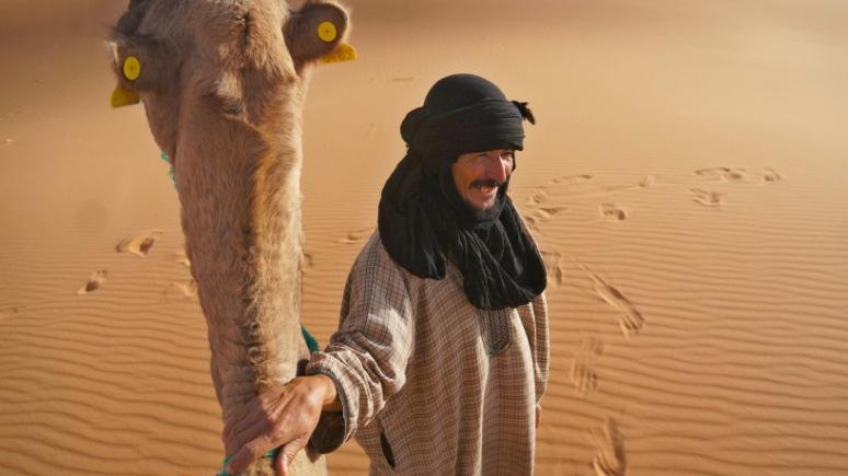 Camel driver - near Merzouga, Morocco